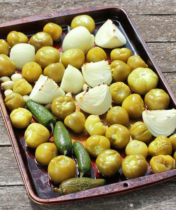 Creamy Roasted Tomatillo Salsa Verde Recipe — A Spicy Perspective