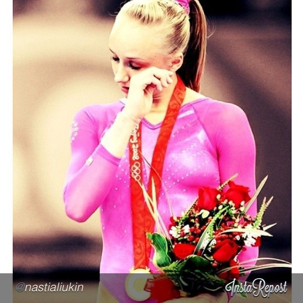 Nastia Liukin wins individual all-around gold at the 2008 Olympic games via @WSN247 on Instagram