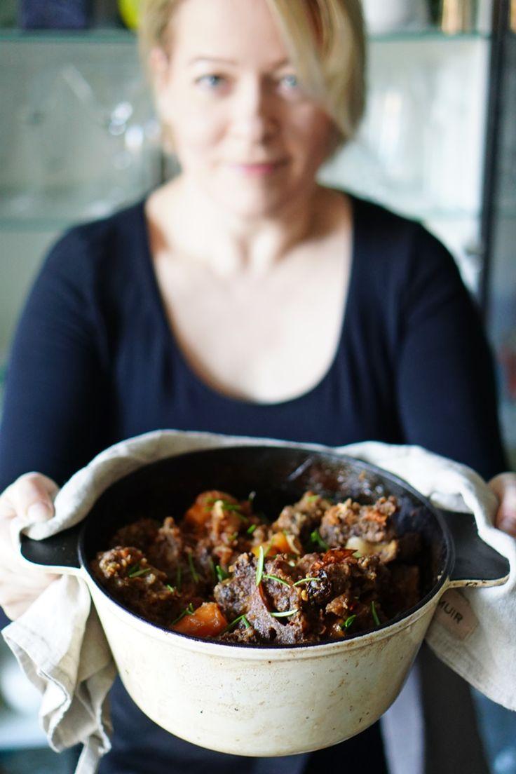 lumo lifestyle: Pitkään hautunut häränhäntäpata   Delicious ox tail stew