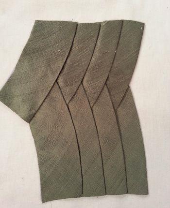 curved tucks tutorial