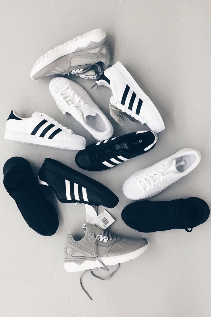 nike and adidas shoes shop