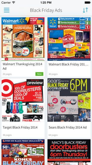 This Black Friday App Collects the Best Deals from Retailers #blackfriday trendhunter.com