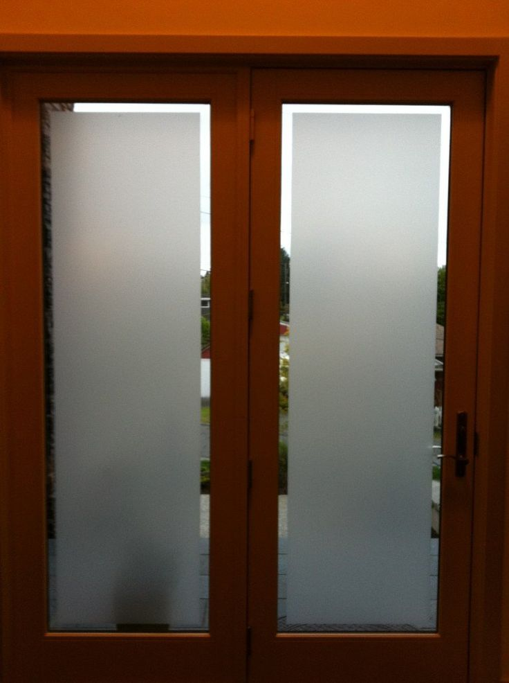 Frosted Privacy Window Film