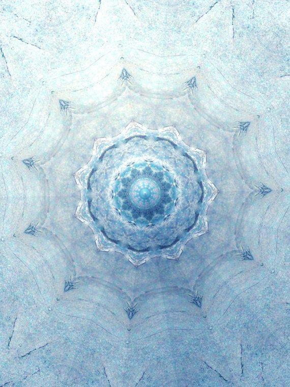 Homage to Masaru Emoto Water Secret Mandala by DMaCPhotography