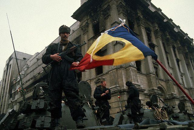 Soldiers 1989 romanian revolution