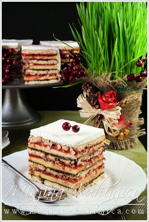 Posna kapri torta