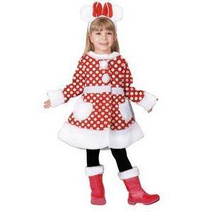 【コスプレ】 RUBIE'S (ルービーズ) Child White Minnie ホワイトミニー Todサイズ - 拡大画像