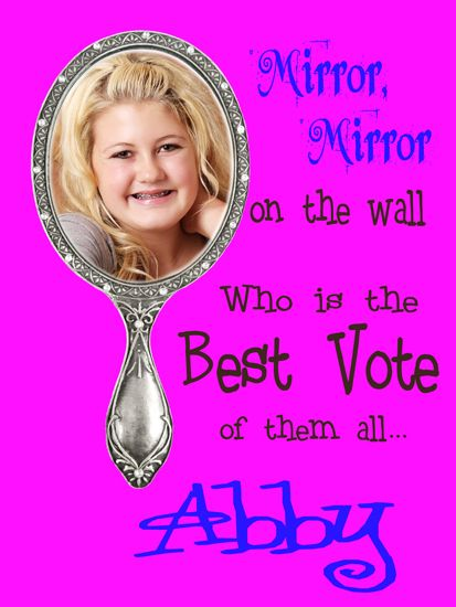 1000 images about student government election ideas on for Mirror 7th girl