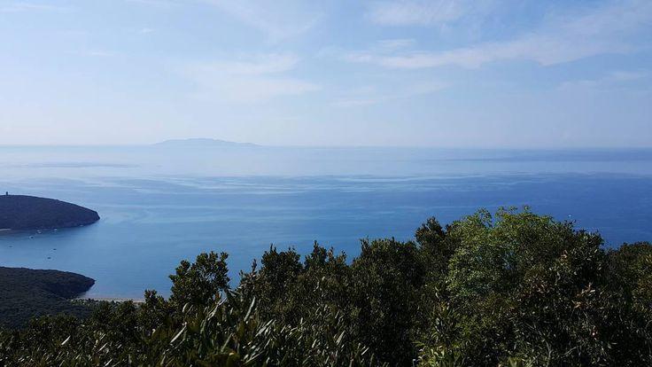 Cielo mare macchia mediterranea. #parcodellamaremma #hiking #igersmaremma