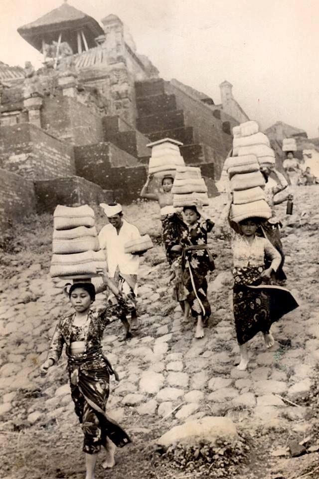 Indonesia, Bali ~ Pura Besakih, 1966