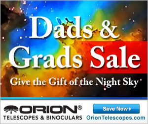 Save on out-of-this-world gifts during our Dads & Grads Sale! Whether you're shopping for a Dad, a Grad, or both, astronomy gear gifts from Orion serve as a welcome reminder that we never stop learning in life, as long as we look up and wonder.