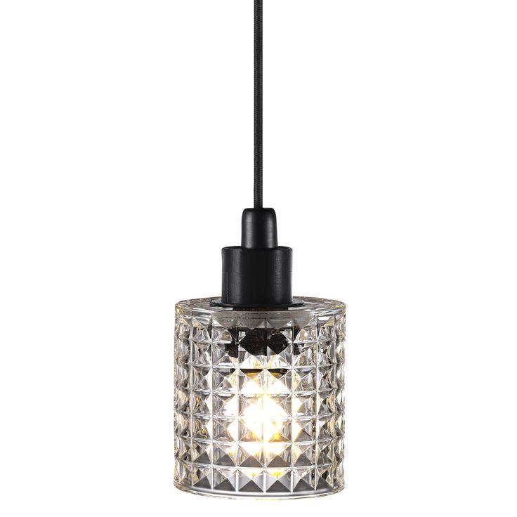 SOLKLINT Taklampa mässinggrå klarglas IKEA i 2020