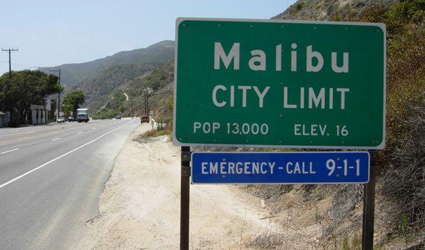Malibu-w-Californii