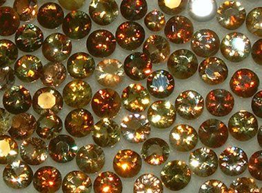 Andalusite is a rock-forming mineral that is mined for use in high-temperature refractories. Gem-quality specimens are cut into faceted gems and cabochons.