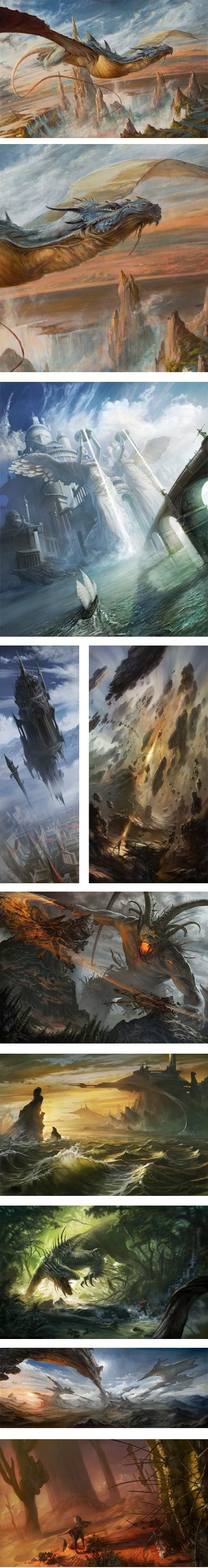 Sam Burley - illustrator who was formerly an matte painter
