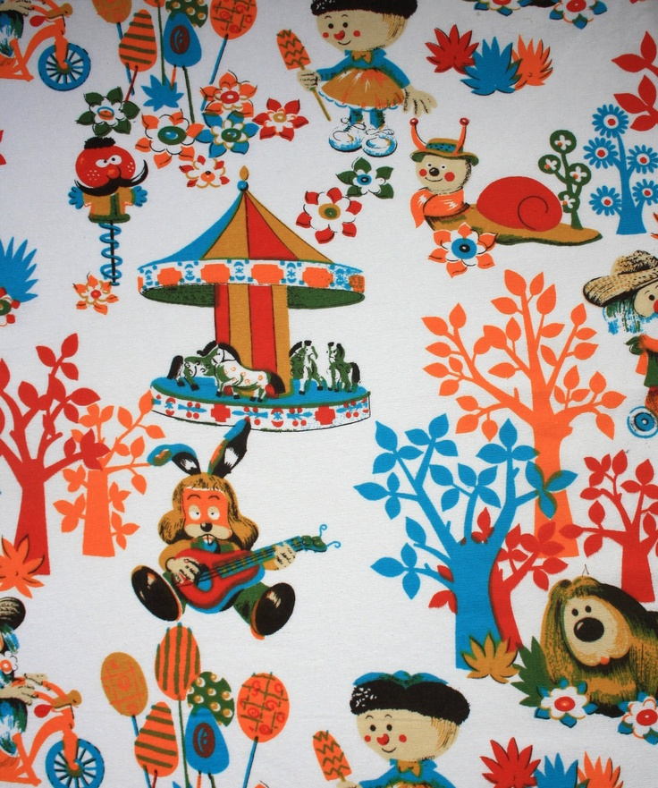 The Magic Roundabout. Every British child of the 70's and 80's has the theme tune embedded in their brains.