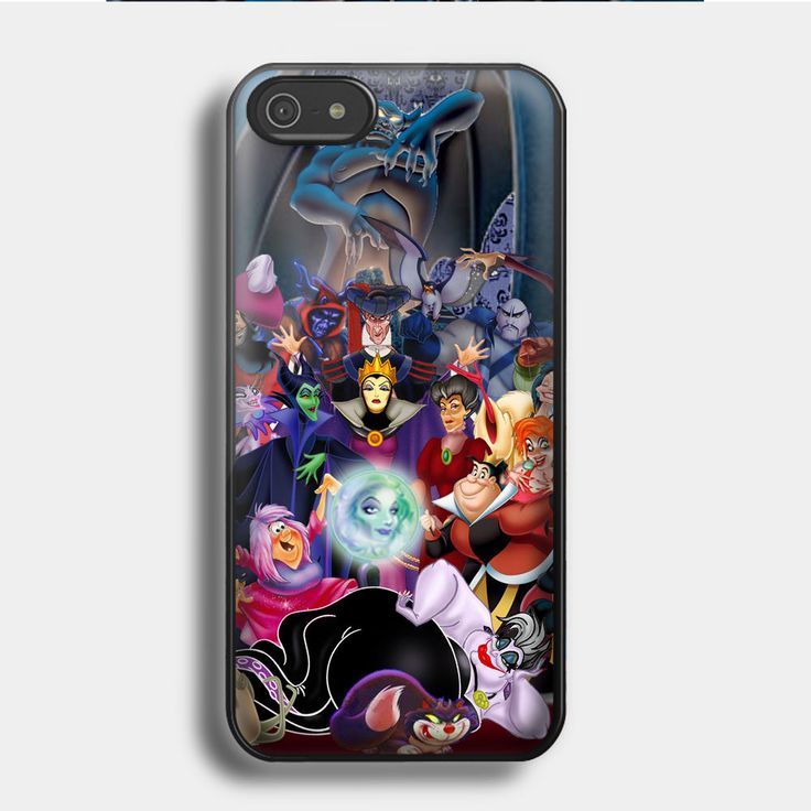 ALL THINGS DISNEY VILLAIN for iPhone 4/4S,5,5C,5S,6 & Samsung S3/S4/S5 Case