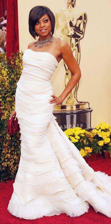 Taraji P. Henson's Best Looks Ever - In Roberto Cavalli, 2009 - from InStyle.com