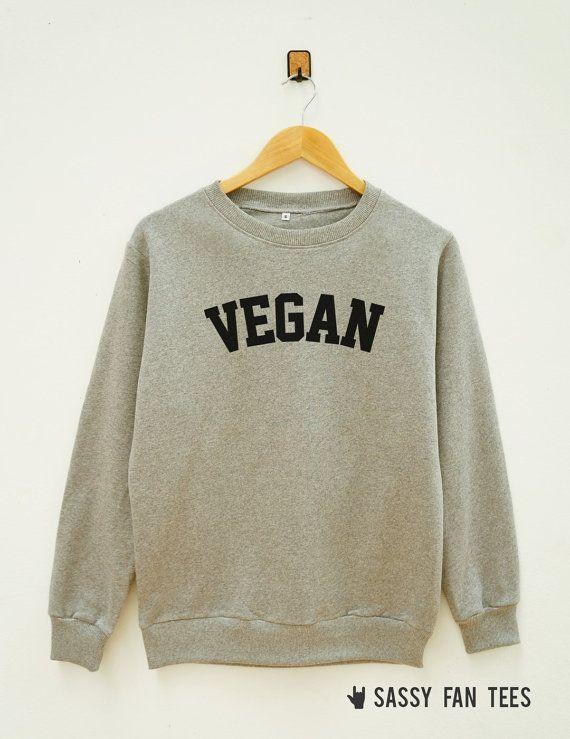Vegan Shirt Word Shirt Instagram Tumblr Fashion by SassyFanTees