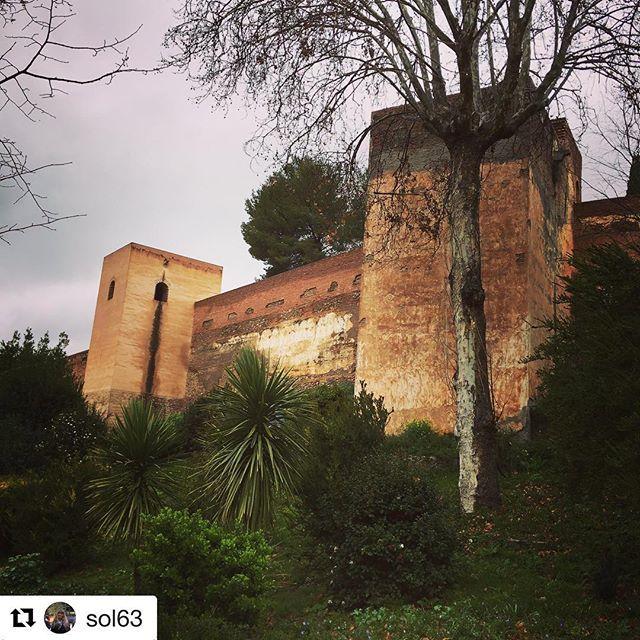 #Repost @sol63 with @get_repost  Alhambra -det røde slott  #reiseliv #reisetips