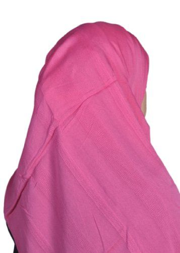 HijabGirl 100% Rayon Wrap – One Size-Hot Pink. This lightweight and simple hijab will be your go-to basic scarf for summer. More at http://suliaszone.com/hijabgirl-100-rayon-wrap-one-size-hot-pink/