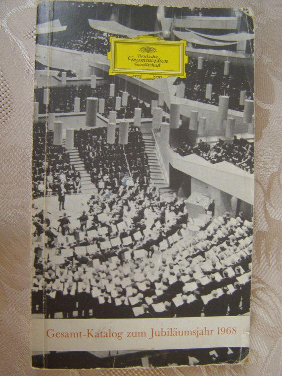 Deutsche grammophon gesamtkatalog zum jubiläumsjahr by Mpoulitsa