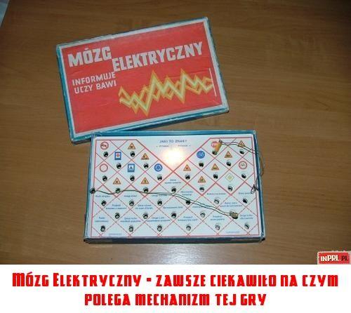 Mózg Elektryczny - zawsze ciekawiło na czym polega mechanizm tej gry