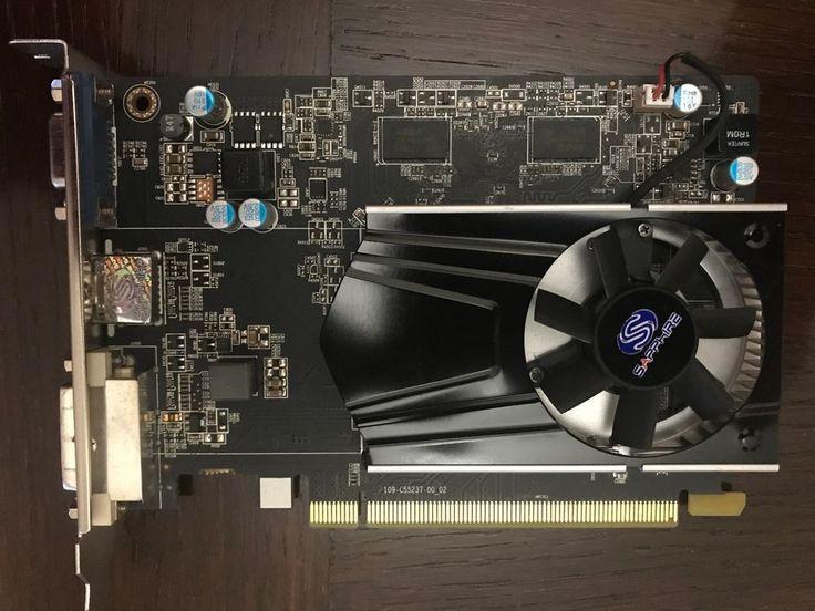 Sapphire AMD Radeon  R7 240 2 GB DDR 3 VGA/DVI/HDMI  #SAPPHIRE
