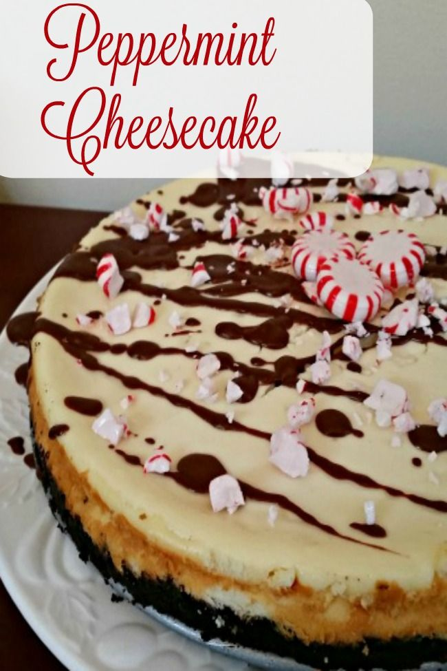 This Peppermint Cheesecake recipe is perfect for your holiday gatherings. AD #HolidayWithGlade (Cheese Making Room)