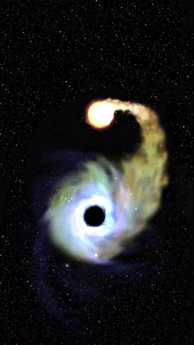 black hole consuming a star - photo #24
