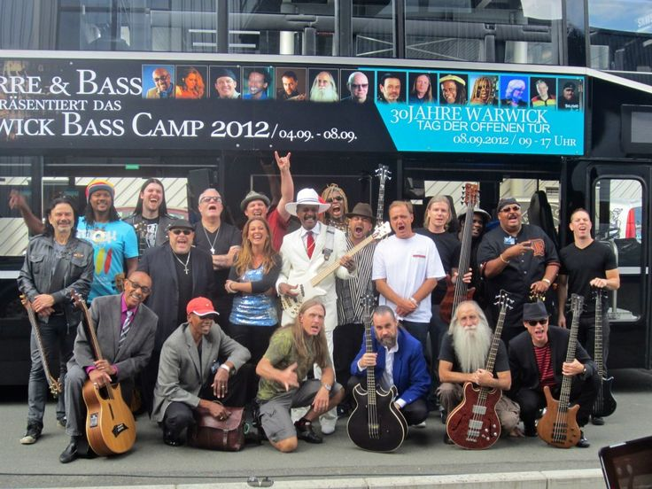 Warwick bass Camp