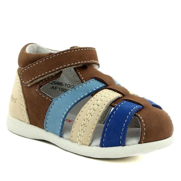 495A KICKERS BABYSUN BEIGE www.ouistiti.shoes le spécialiste internet #chaussures #bébé, #enfant, #fille, #garcon, #junior et #femme collection printemps été 2017