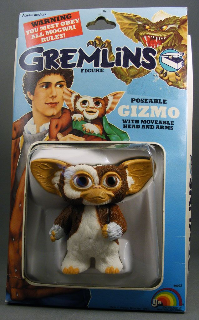 Gremlins! Gizmo was the ultimate toy after the movie came out in '84.
