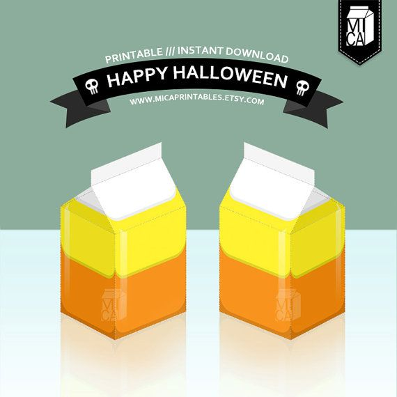 #Halloween #Printables #Party #Favor #Decoration #Candycorn by MicaPrintables