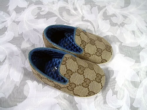 CUUUUUTE Authentic Baby Gucci Shoes New In Box Size 18