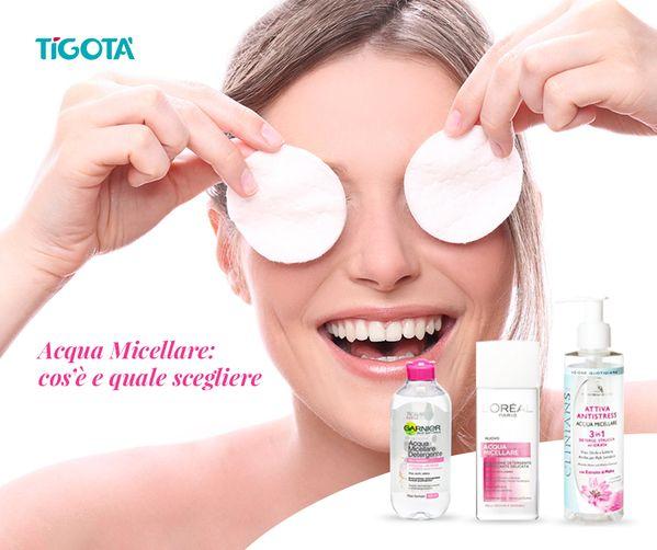 Avete mai sentito parlare di acqua micellare? Efficace per purificare la #pelle del #viso e rimuovere delicatamente tutte le tracce di #trucco. Ecco i suoi benefici e i prodotti consigliati da #Tigotà #acquamicellare