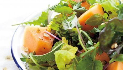 Summer Greens & Melon Salad