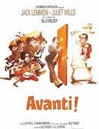 Avanti! (1972). [R] 140 mins. Starring:  Jack Lemmon, Juliet Mills, Clive Revill and Edward Andrews