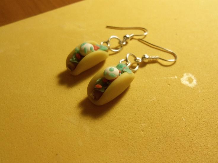 Taco earings