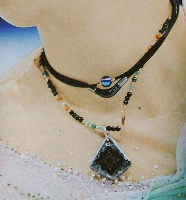 Yuzu + necklace