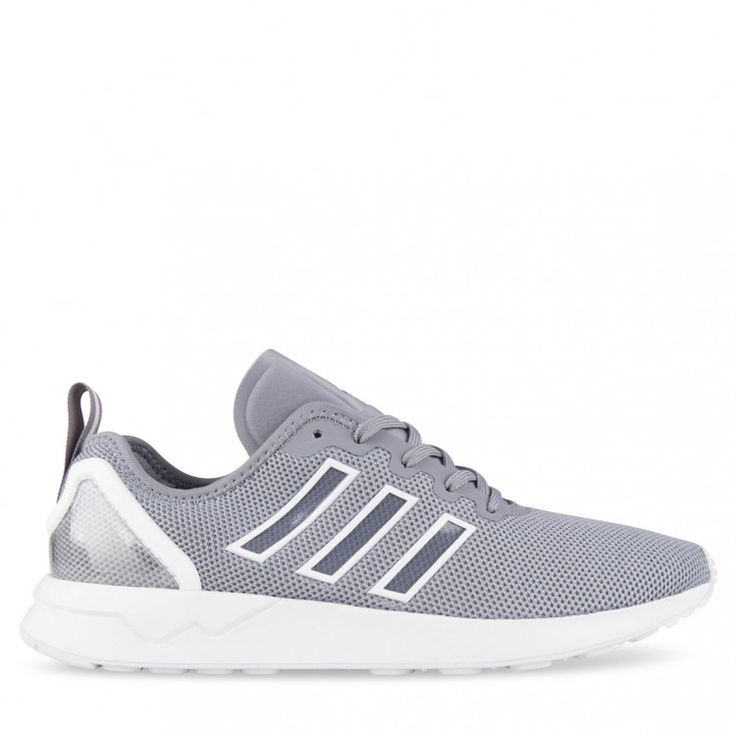 29a7ef51f ... White Grey Black Hype DC Buy adidas ZX FLUX ADV Grey White online at Hype  DC. Available in a ...