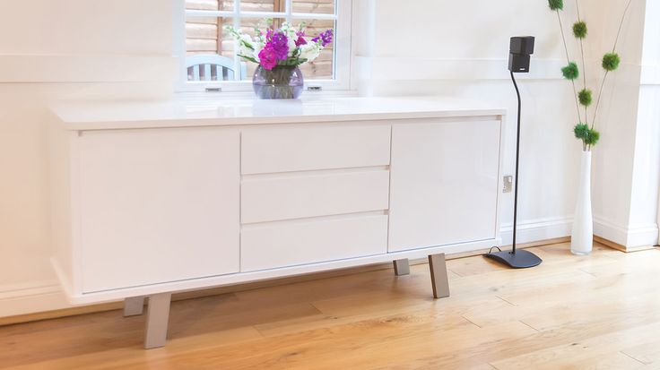 Assi White Gloss Sideboard £396.00