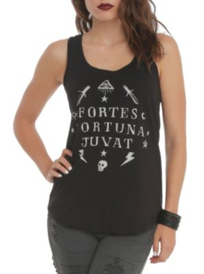 Fortes Fortuna Juvat Girls Tank Top [lucy]