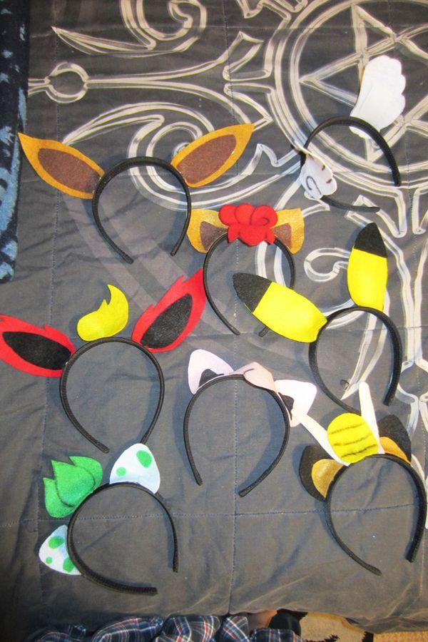 Pokemon Headbands by PrincessPyro00