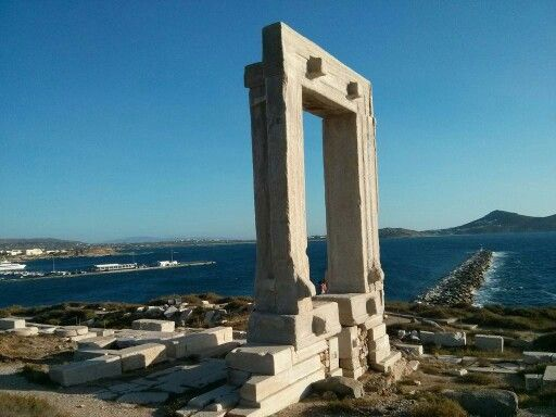 Unfinished Temple of Apollo, Naxos.