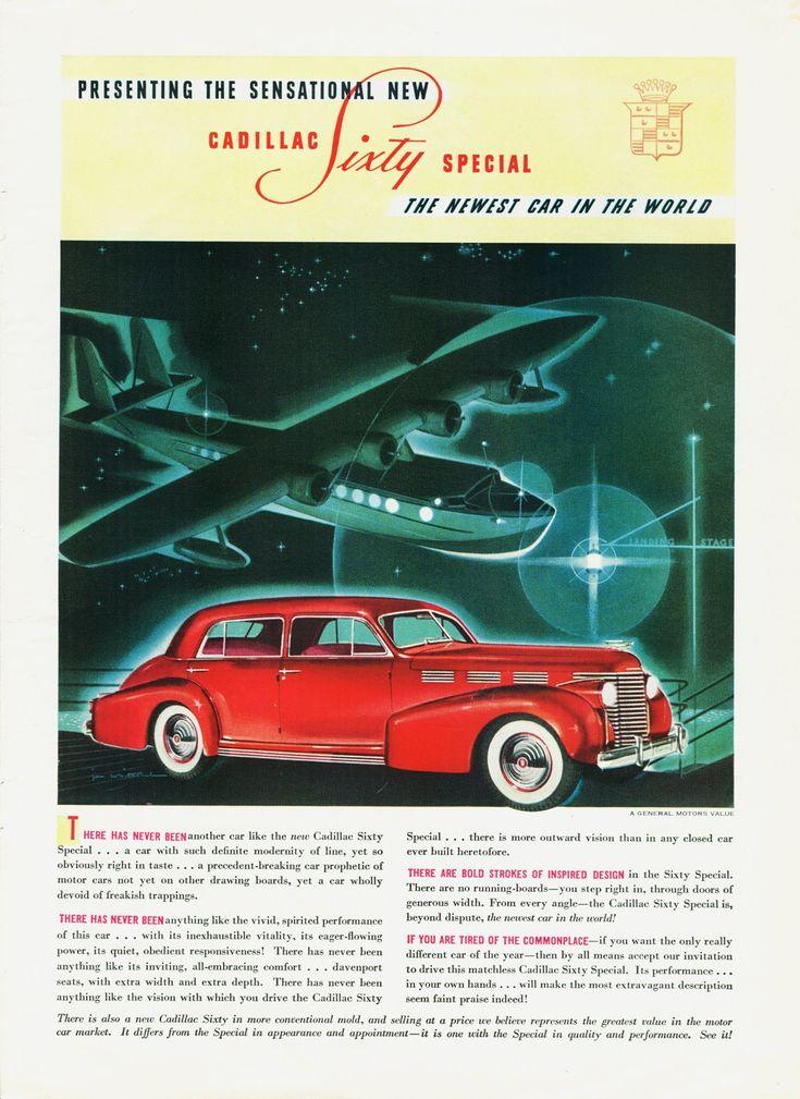 19 best 1938 Cadillac Ads images on Pinterest | Cars, Vintage ads ...