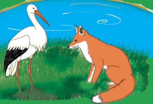 The Fox and the Stork read online