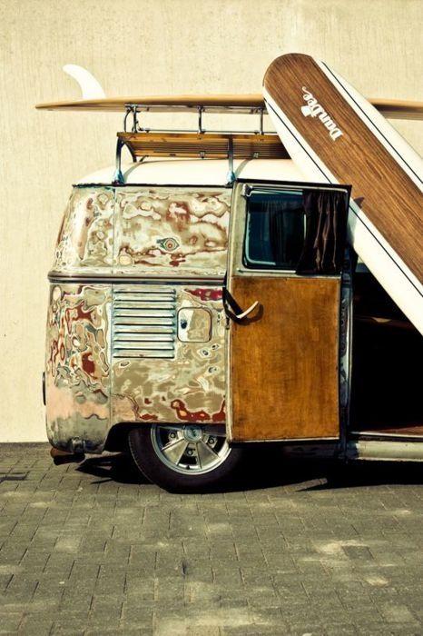 Volkswagen Bus #van #vintage #freedom surf style  https://morgatta.wordpress.com/2015/06/09/il-bussino/