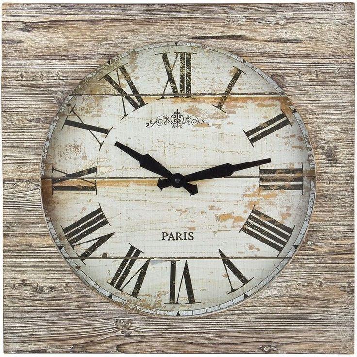 1000 id es propos de grandes horloges murales sur for Pendule murale industrielle
