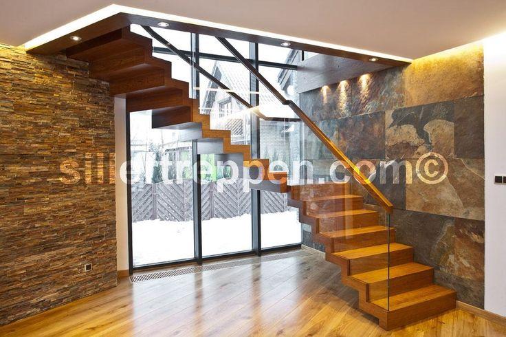 escalier en bois avec verre tournant autoportant - Google Search